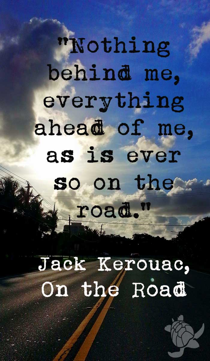 Kerouac on the road quote