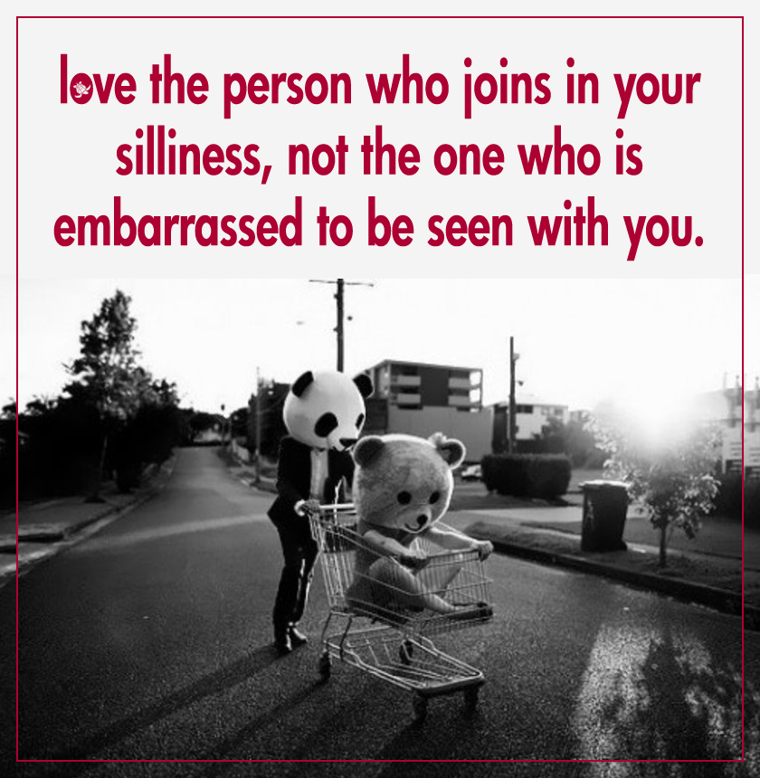 embrace your silliness