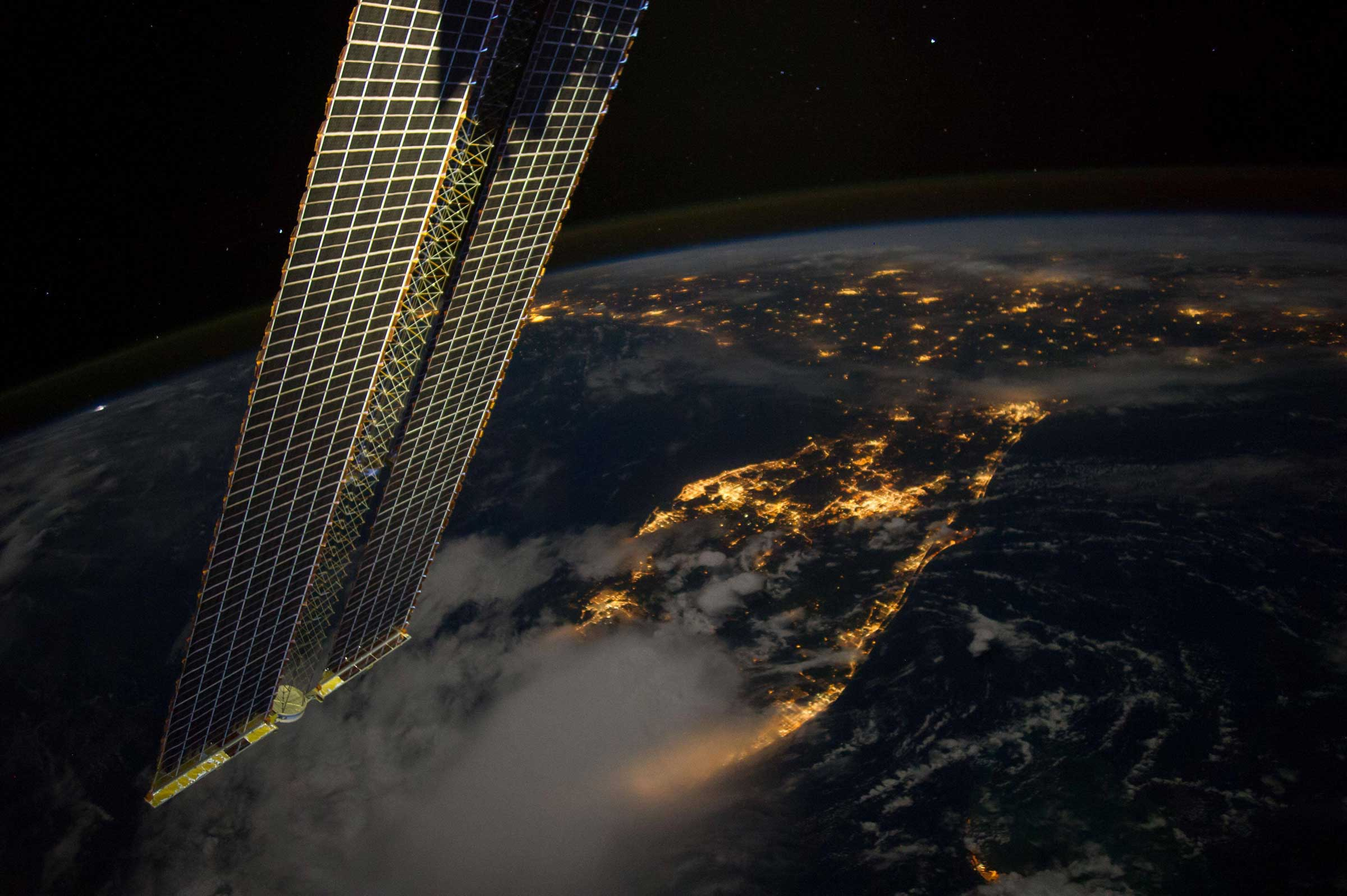 Florida from Space at Night