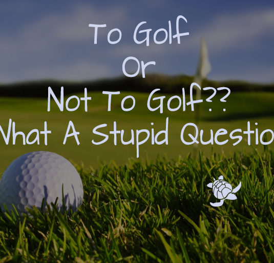 To Golf Or Not To Golf??
